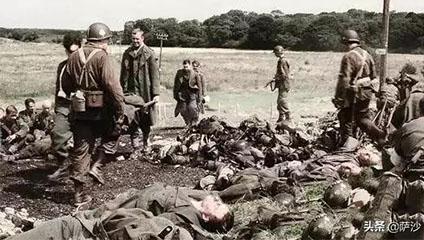 战争中阵地前的尸体去哪了 都怎么处理呢?