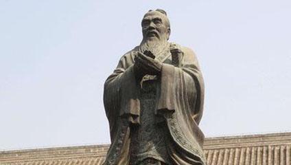 孔子的铜像为何腰上会配剑?